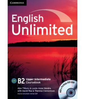 Підручник English Unlimited Upper-Intermediate Coursebook with e-Portfolio