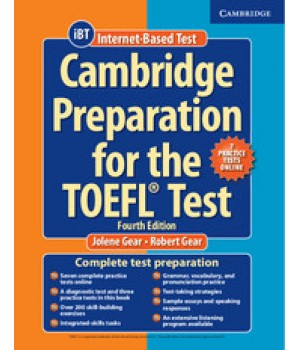 Підручник Cambridge Preparation for the TOEFL Test Book with Online Practice Tests and Audio CDs (8) Pack