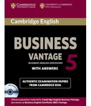Тести Cambridge BEC Vantage 5 Book with Answers and Audio CDs (2)