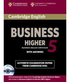 Тести Cambridge BEC Higher 5 Book with Answers and Audio CD