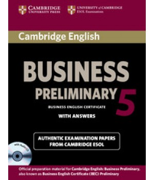 Підручник Cambridge BEC Preliminary 5 Book with Answers and Audio CDs (2)