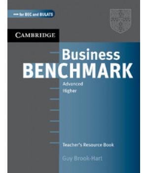 Книга для вчителя Business Benchmark BEC HIgher & Advanced BULATS Teacher's Resource Book