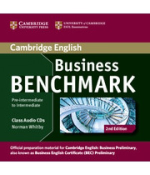 Диски Business Benchmark (Second Edition) BEC Preliminary Class Audio CDs (2)