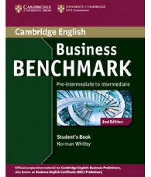 Підручник Business Benchmark (Second Edition) BEC Preliminary Student's Book