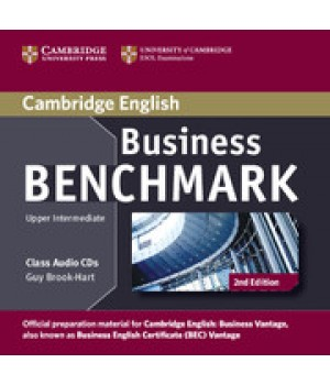 Диски Business Benchmark (Second Edition) BEC Vantage Class Audio CDs (2)