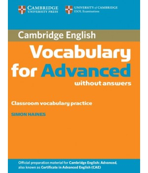Підручник Cambridge Vocabulary for Advanced Edition with answers and Audio CD