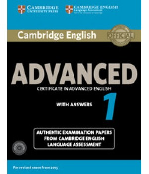Тести Cambridge English Advanced 1 for Revised Exam from 2015 Student's Book with Answers and Audio CDs (2)