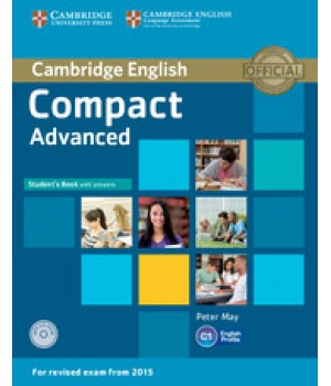 Підручник Compact Advanced Student's Book with answers with CD-ROM