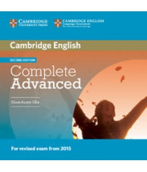 Учебник Complete Advanced Second edition Class Audio Cds