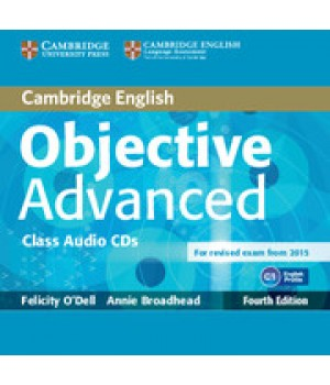 Диски Objective Advanced Fourth edition Class Audio CDs (2)