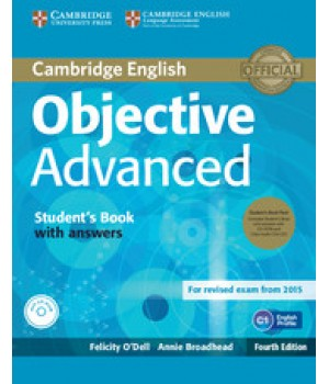 Підручник Objective Advanced Fourth edition Student's Book with Answers with CD-ROM