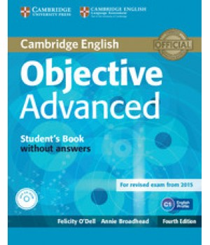 Підручник Objective Advanced Fourth edition Student's Book without Answers with CD-ROM