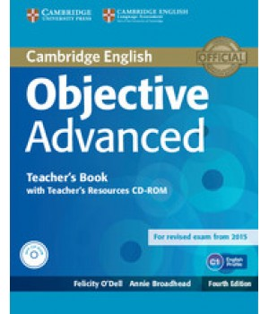 Книга для вчителя Objective Advanced Fourth edition Teacher's Book with Teacher's Resources Audio CD/CD-ROM