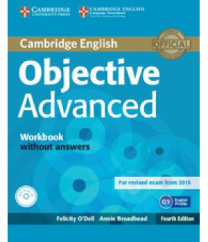 Робочий зошит Objective Advanced Fourth edition Workbook without Answers with Audio CD