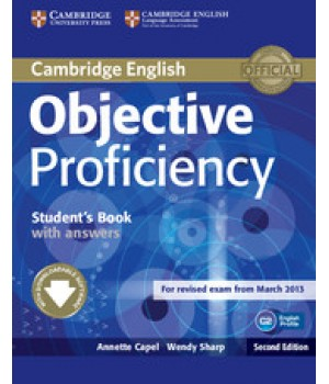 Учебник Objective Proficiency Second edition Student's Book with answers with Downloadable Software