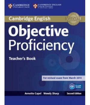 Книга для вчителя Objective Proficiency Second edition Teacher's Book