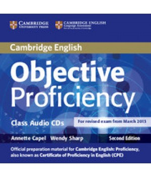 Диски Objective Proficiency Second edition Class Audio CDs (3)