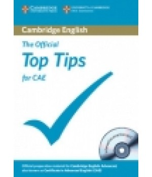 Підручник The Official Top Tips for CAE Book with CD-ROM