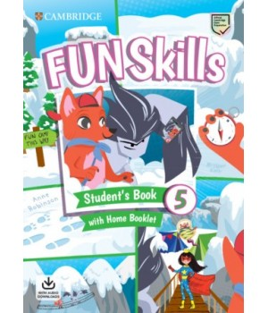Підручник Fun Skills Level 5 Student's Book with Home Booklet and Downloadable Audio