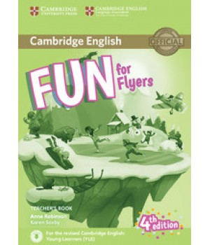 Книга для вчителя Fun for Flyers 4th Edition Teacher's Book with Downloadable Audio