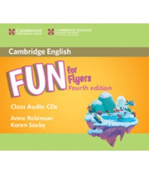 Диски Fun for Flyers 4th Edition Class Audio CDs (2)
