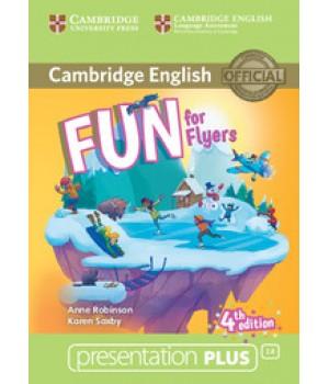 Диск Fun for Flyers 4th Edition Presentation Plus DVD-ROM