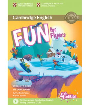 Підручник Fun for Flyers 4th Edition Student's Book with Online Activities with Audio