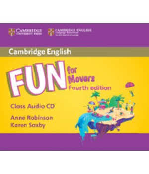 Диски Fun for Movers 4th Edition Class Audio CDs (2)