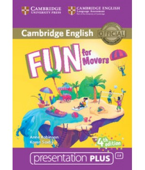 Диск Fun for Movers 4th Edition Presentation Plus DVD-ROM