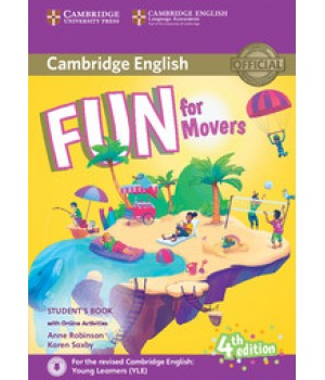 Підручник Fun for Movers 4th Edition Student's Book with Online Activities with Audio