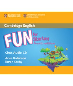 Диски Fun for Starters 4th Edition Class Audio CDs (2)