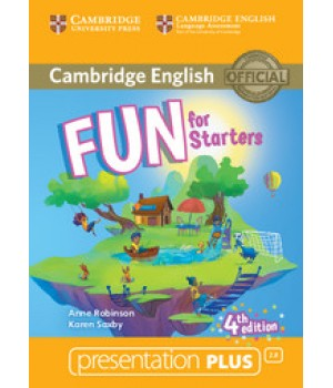 Диск Fun for Starters 4th Edition Presentation Plus DVD-ROM