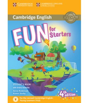Підручник Fun for Starters 4th Edition Student's Book with Online Activities with Audio