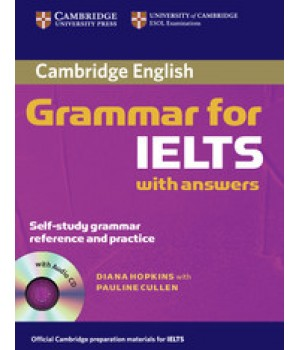 Граматика Cambridge Grammar for IELTS Book with answers and Audio CD