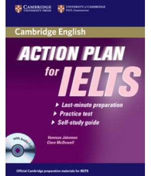 Підручник Action Plan for IELTS Academic Module Paperback with CD-Audio