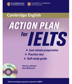 Підручник Action Plan for IELTS General Module Paperback with CD-Audio