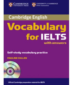 Підручник Cambridge Vocabulary for IELTS Book with answers and Audio CD