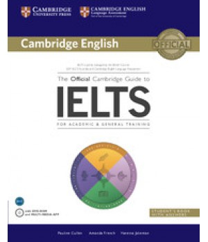 Підручник The Official Cambridge Guide to IELTS Student's Book with Answers with DVD-ROM