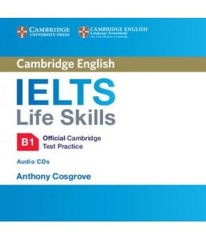 Диск IELTS Life Skills Official Cambridge Test Practice B1 Audio CDs (2)