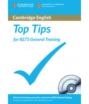 Підручник Top Tips for IELTS General Training Book with CD-ROM
