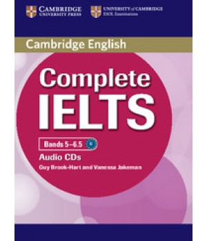 Диски Complete IELTS Bands 5-6.5 Class Audio CDs (2)