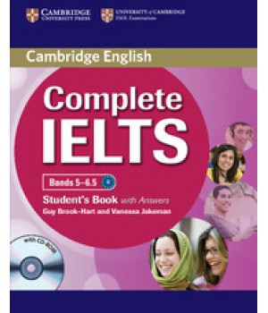 Підручник Complete IELTS Bands 5-6.5 Student's Pack (Student's Book with Answers with CD-ROM and Class Audio Cds)