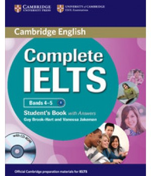 Учебник Complete IELTS Bands 4-5 Student's Book with Answers with CD-ROM