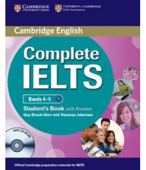 Учебник Complete IELTS Bands 4-5 Student's Pack (Student's Book with Answers with CD-ROM and Class Audio CDs)
