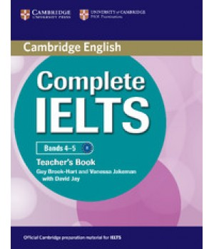 Книга для вчителя Complete IELTS Bands 4-5 Teacher's Book