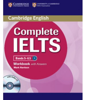 Робочий зошит Complete IELTS Bands 5-6.5 Workbook with Answers with Audio CD