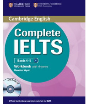 Рабочая тетрадь Complete IELTS Bands 4-5 Workbook with Answers with Audio CD