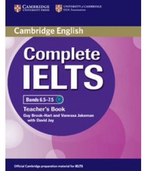 Книга для вчителя Complete IELTS Bands 6.5-7.5 Teacher's Book