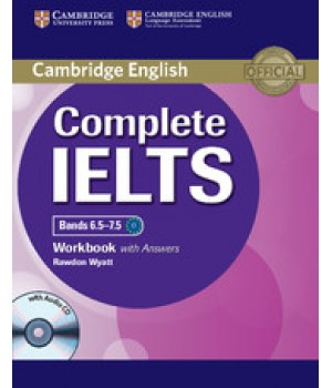Робочий зошит Complete IELTS Bands 6.5-7.5 Workbook with answers with Audio CD