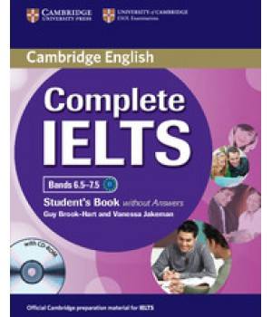 Підручник Complete IELTS Bands 6.5-7.5 Student's Book without answers with CD-ROM